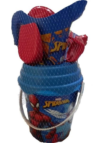 SECCHIELLO.+ACCESSORI SPIDERMAN D.170