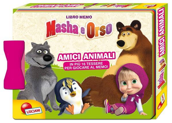 MASHA LIBRO MEMO AMICI ANIMALI