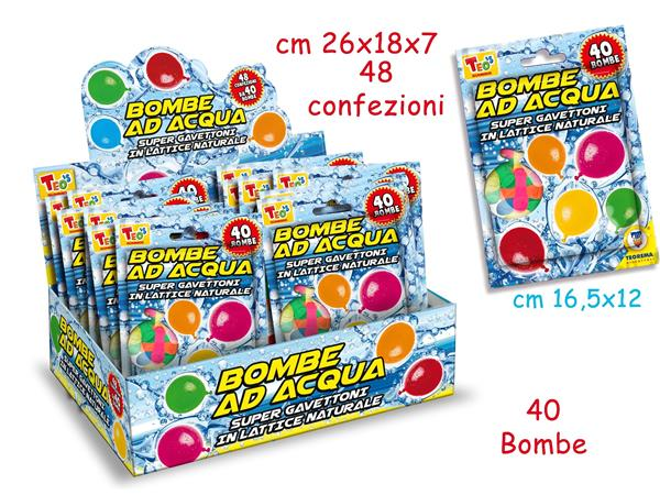 BOMBE AD ACQUA 40 PEZZI