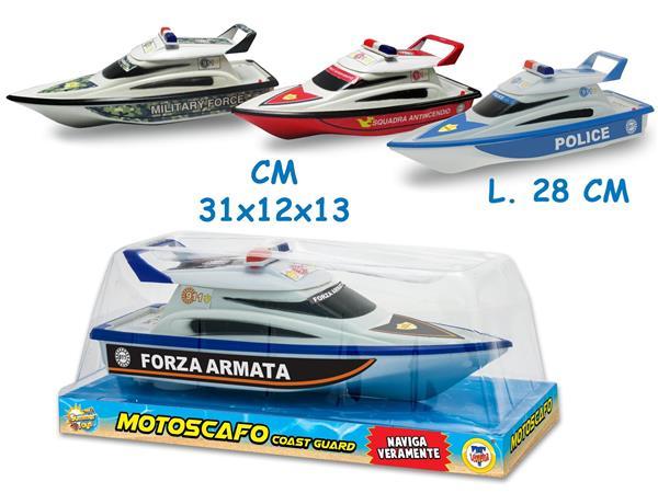 MOTOSCAFO GUARDIA COSTIERA 4 MDL CM.28 A BATTERIA