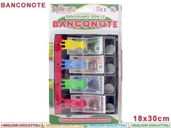 BANCONOTE CON CASSETTO BLISTER