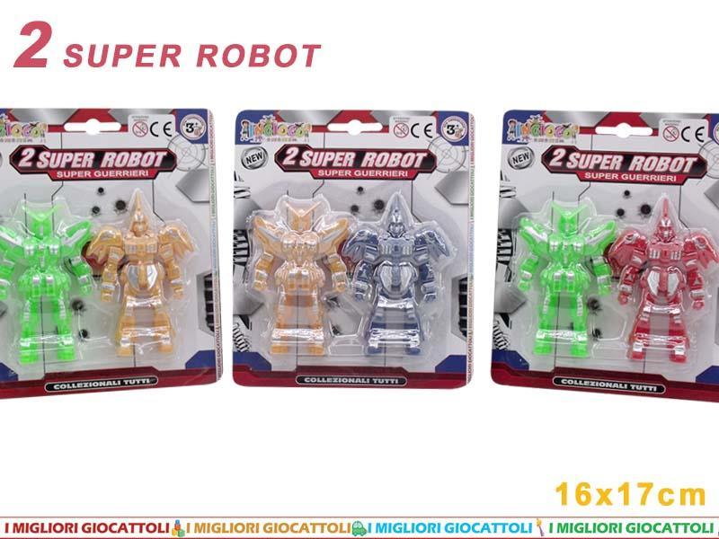 ROBOT 2 PZ. BLISTER