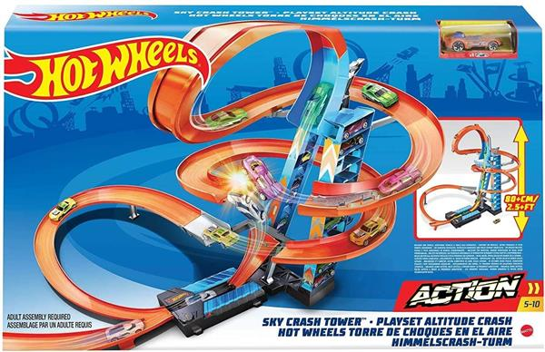 HOT WHEELS CRAZY TOWER