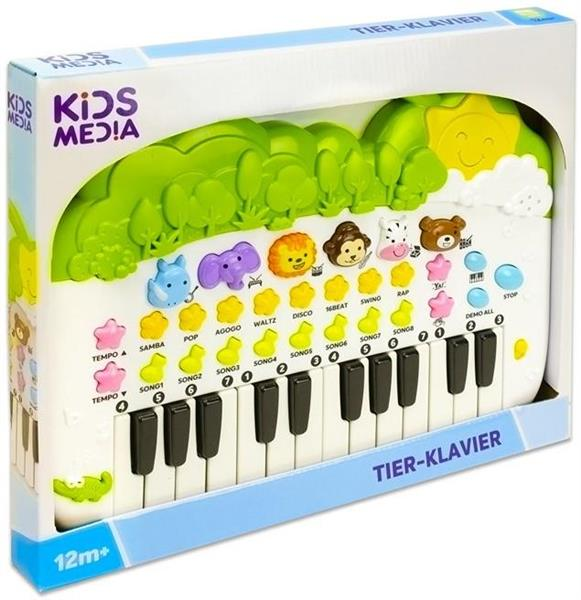 BABY PIANOLA ANIMALI 42 CM 4 ASS.TE