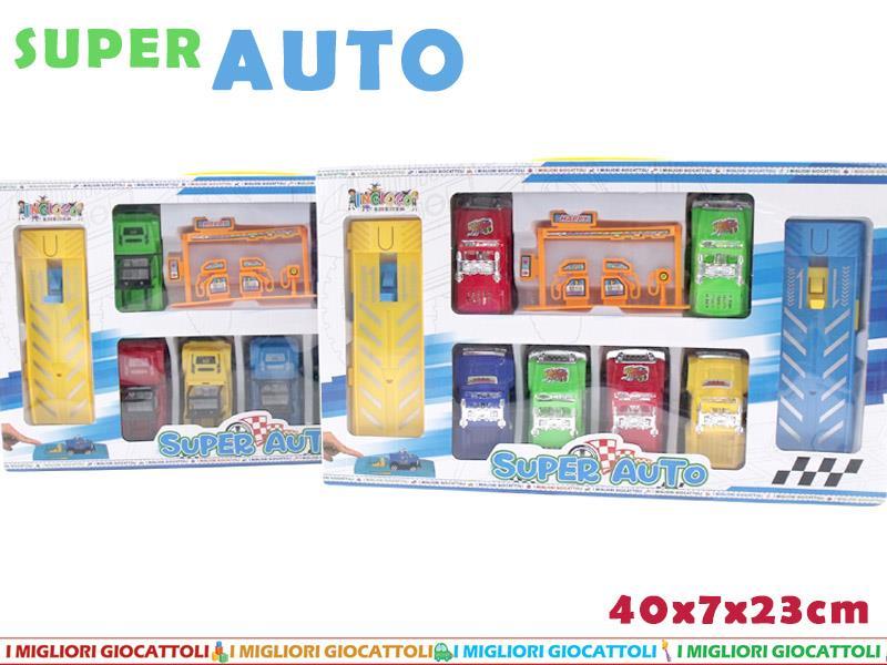 AUTO CON PISTA BOX