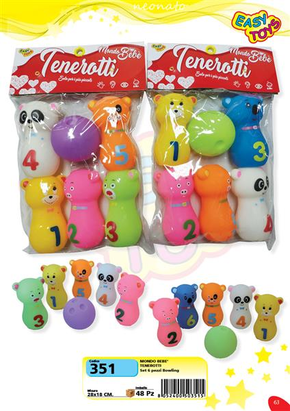 TENEROTTI 6 PZ. BOWLING