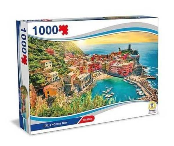 PUZZLE ITALIA CINQUE TERRE 1000 PEZZI 70X50 CM