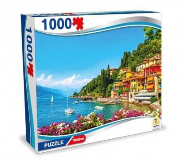 PUZZLE ITALIA LAGO DI COMO 1000 PEZZI 70X50 CM