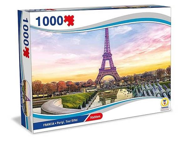 PUZZLE FRANCIA PARIGI TOUR EIFFEL 1000 PEZZI 70X50 CM