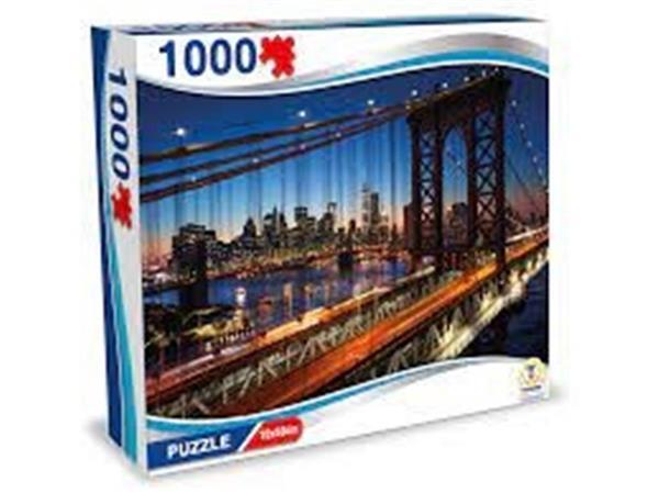 PUZZLE USA NEW YORK PONTE DI BROOKLYN 1000 PEZZI 70X50 CM
