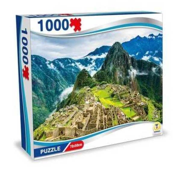 PUZZLE PERU' MACHU PICCHU 1000 PEZZI 70X50 CM