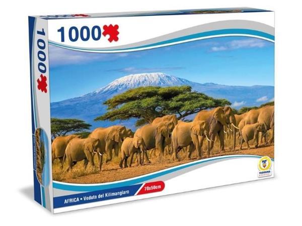 PUZZLE AFRICA VEDUTADEL KILIMANGIARO 1000 PEZZI 70X50 CM