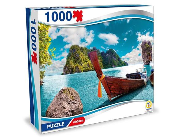 PUZZLE THAILANDIA ISOLE PHI PHI 1000 PEZZI 70X50 CM