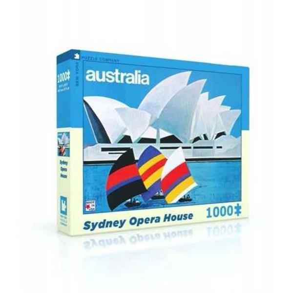 PUZZLE AUSTRALIA SYDNEY OPERA HOUSE 1000 PEZZI 70X50 CM