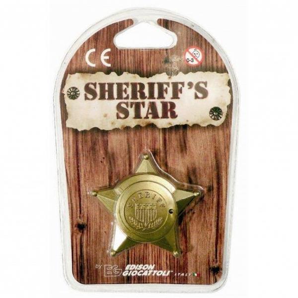 SHERIFF'S STAR BLISTER