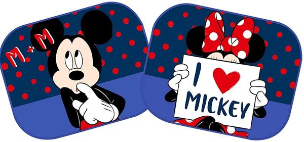 COPPIA TENDINE MINNIE MICKEY 44X35