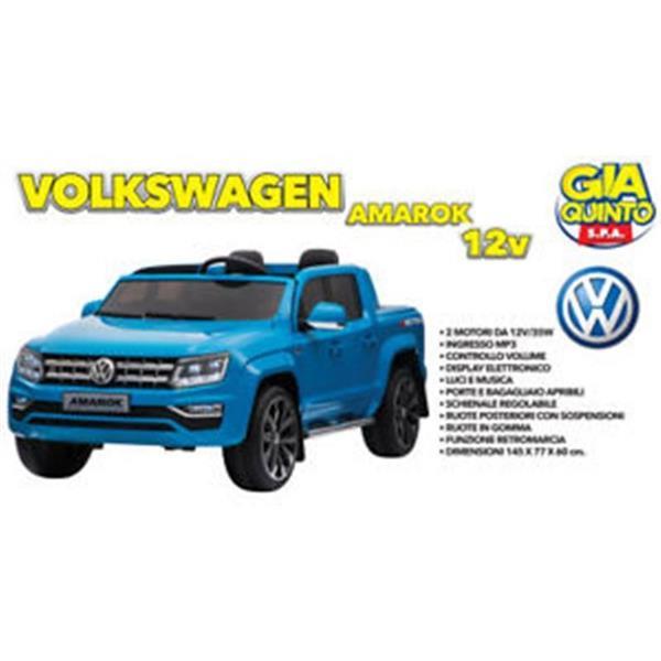 AUTO VOLKSWAGEN AMAROK BLU 12 V.