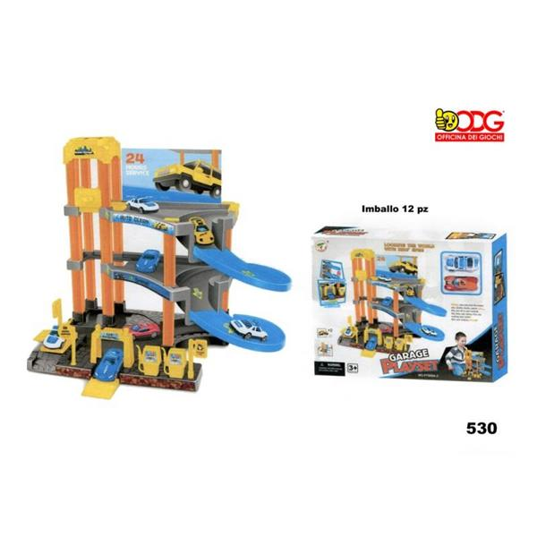 GARAGE PLAYSET MEDIO