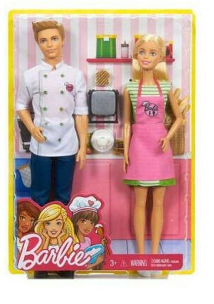 BARBIE AND KEN DOLLS-CAFFE'