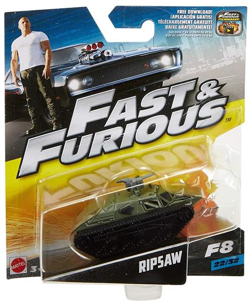 AUTO FAST & FURIOUS 1:55 SCALE DIE CAST