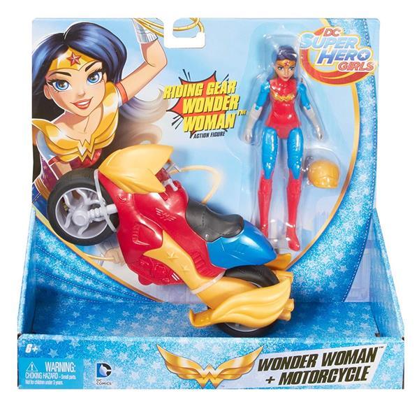 DC SUPER HERO GIRL ACTION FIG/VEHICLE