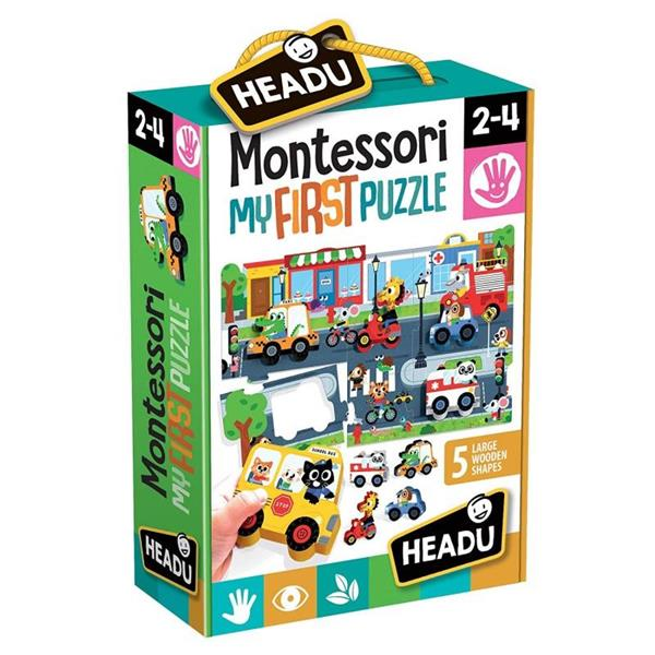 MONTESSORI FIRST PUZZLE THE CITY