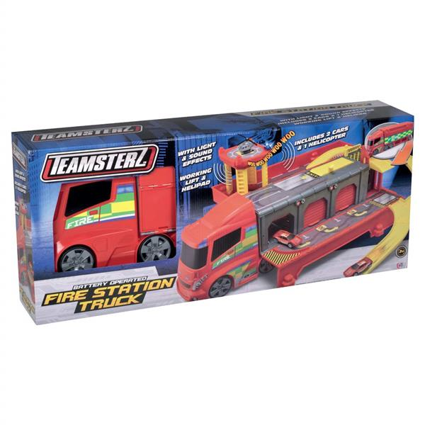 TEAMSTERZ CAMION TRASF.PISTA PLAY SET