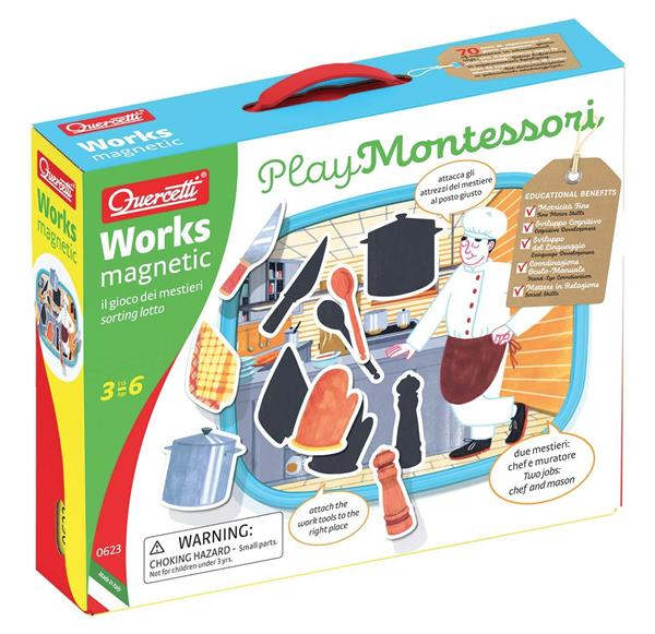 WORKS MAGNETIC 3-6