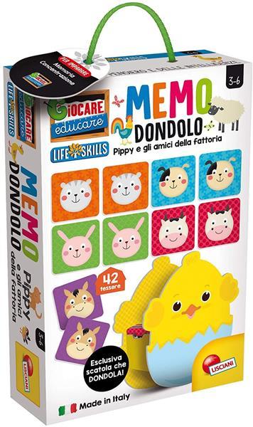 MEMO DONDOLO PIPPY E I SUOI AMICI ANIMALI
