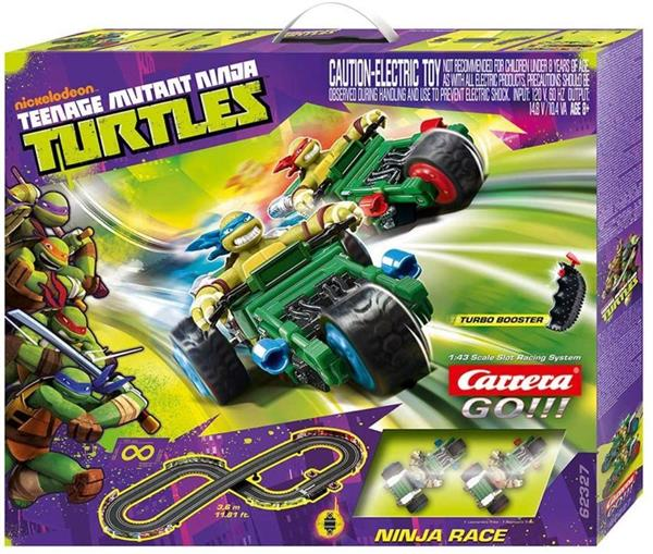 PISTA NINJA TURTLES RACE