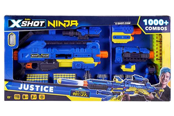 X-SHOT NINJA JUSTICE 48 DARDI