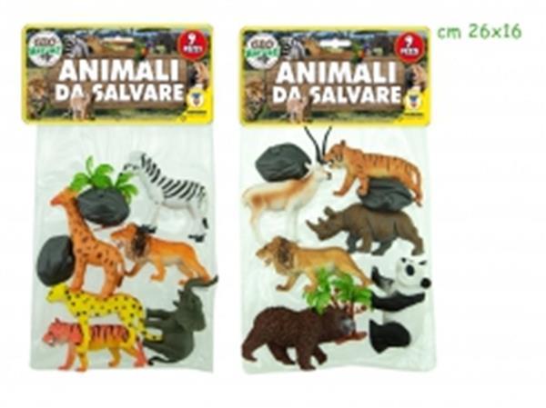 ANIMALI DA SALVARE 6 PEZZI 2 ASS.