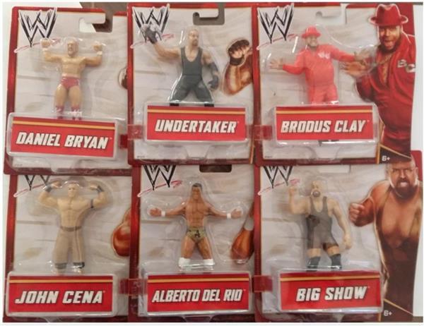 PERSONAGGI WWE SMALL CM.10 ASSORTITI 6