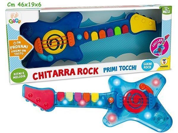 BABY CHITARRA MUSICALE E LUMINOSA