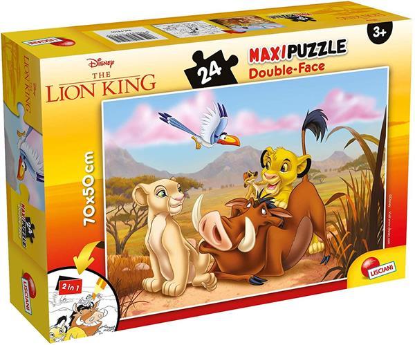 PUZZLE DF SUPERMAXI 24 LION KING