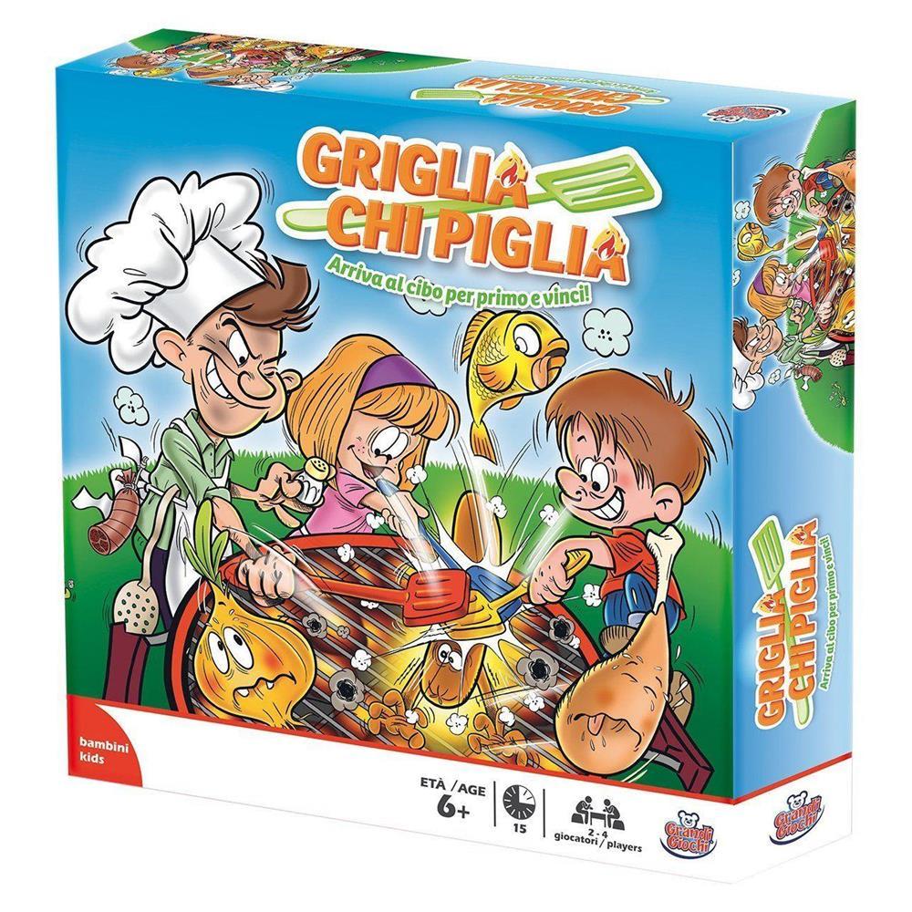 GRIGLIA CHI PIGLIA TV