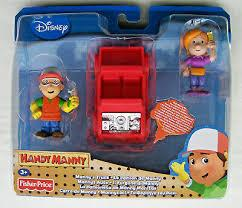 HANDY MANNY 2 PERS.
