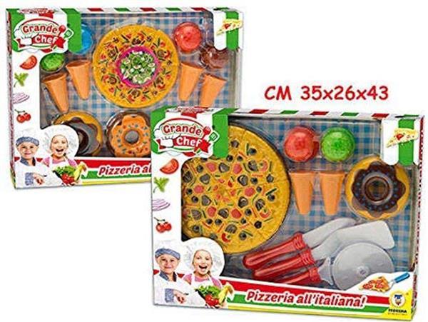 HAPPY PIZZA CON ACCESSORI 2 IN 1