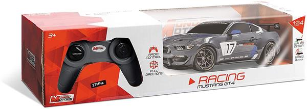 AUTO GLOBAL MUSTANG GT4 NEW R/C 1:28