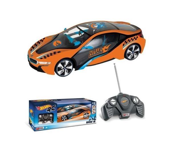AUTO HOT WHEELS BMW I8 R/C 1:28