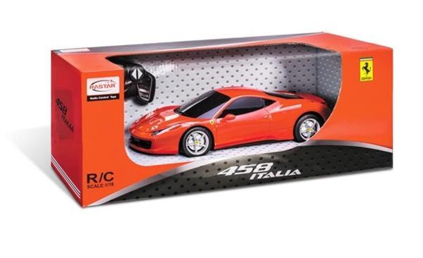 AUTO FERRARI 458 ITALIA 2020 R/C 1:18