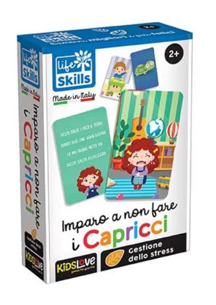 LIFE SKILLS CARDS IMPARO A NON FARE I CAPRICCI