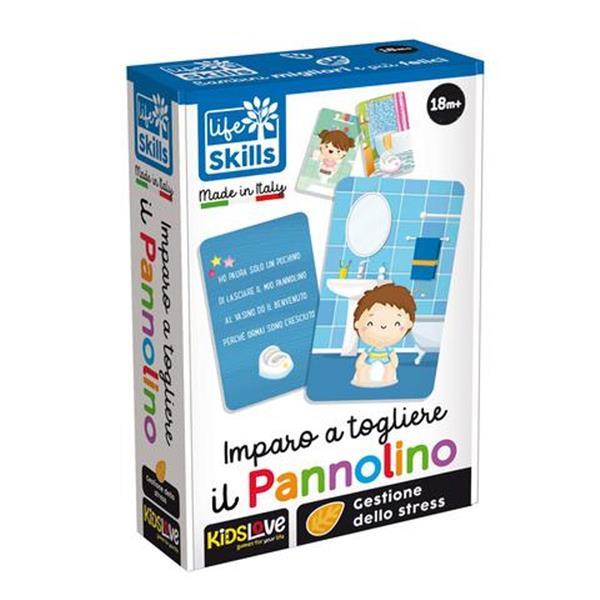 LIFE SKILLS CARDS IMPARO A TOGLIERE IL PANNOLINO