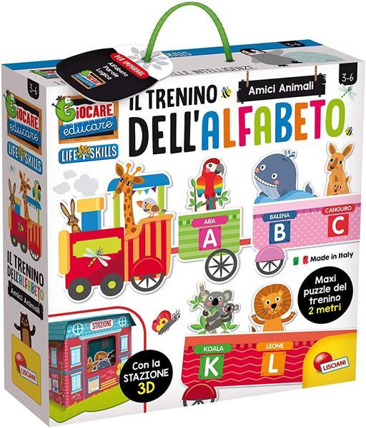 LIFE SKILLS IL TRENINO DELL'ALFABETO 3D