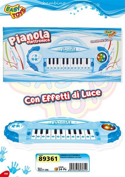PIANOLA ELETTRONICA CON LUCI