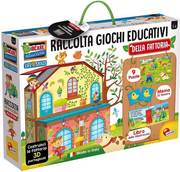LIFE SKILLS RACCOLTA GIOCHI EDUCATIVI LA FATTORIA