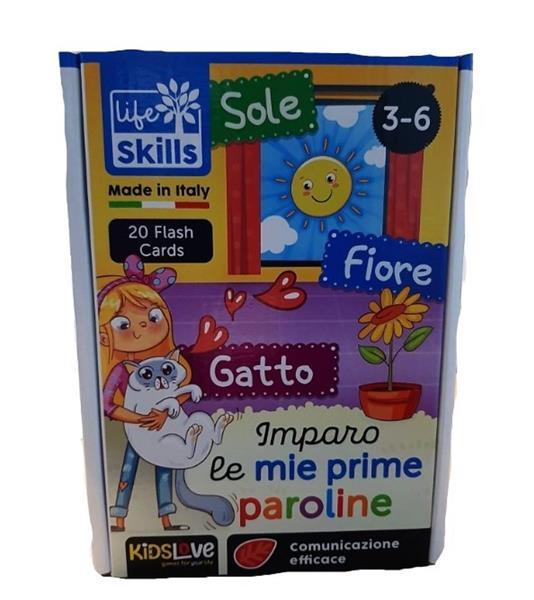 LIFE SKILLS CARDS IMPARO LE MIE PRIME PAROLE
