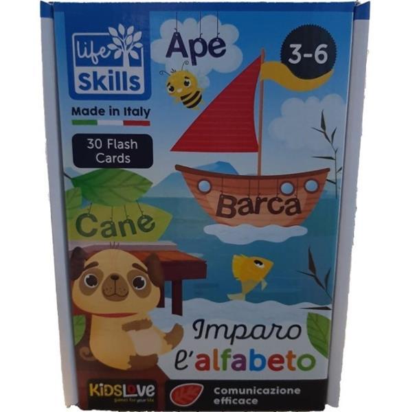 LIFE SKILLS CARDS IMPARO L'ALFABETO
