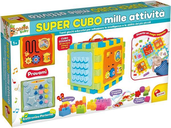 CAROTINA BABY SUPER CUBO MILLE ATTIVITA'