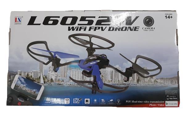DRONE CCAMERA E WIFI RC+TRASF.+PILE